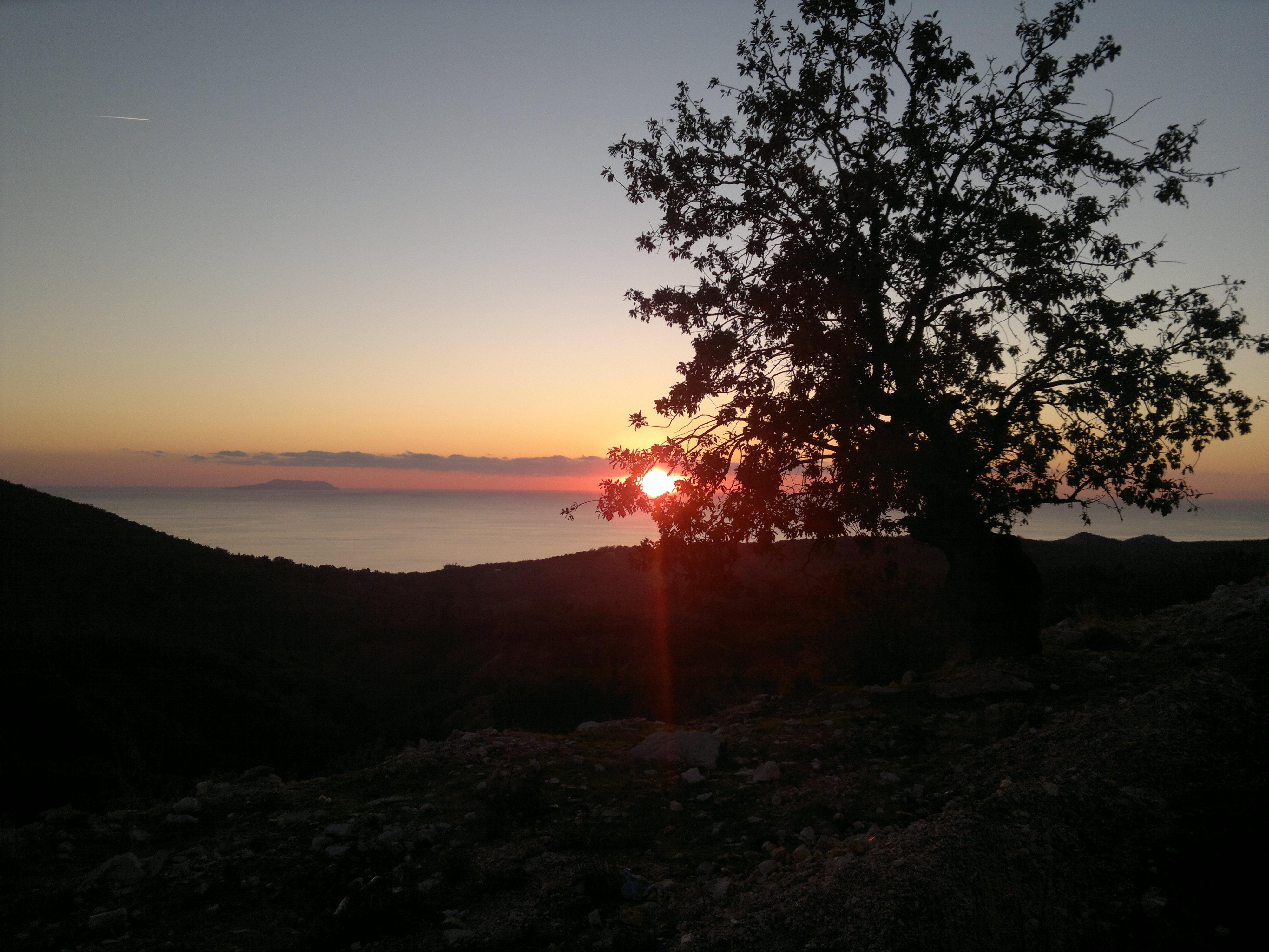 Küstenstimmung an der Albanischen Riviera